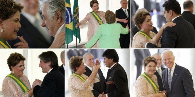 Posse de Dilma tem oito chefes de Estado, maioria da América