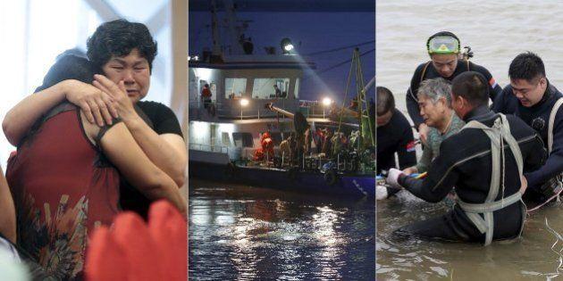 Número de mortos em naufrágio na China salta para 396, empresa pede