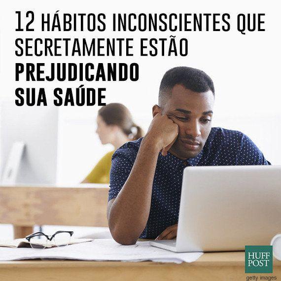 12 hábitos inconscientes no trabalho que fazem você perder a saúde sem