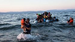 Migrantes sírios enfrentam travessia perigosa para entrar na
