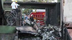Avião monomotor cai em Belo Horizonte e deixa três