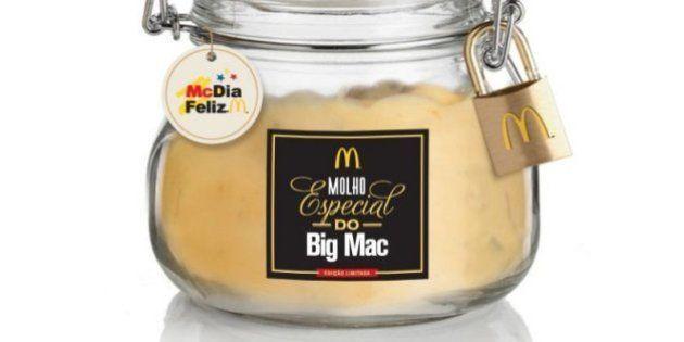 Molho especial do Big Mac será vendido pelo