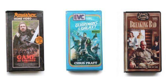 Timeless VHS: Perfil no instagram 'transforma' filmes e séries recentes em fitas VHS