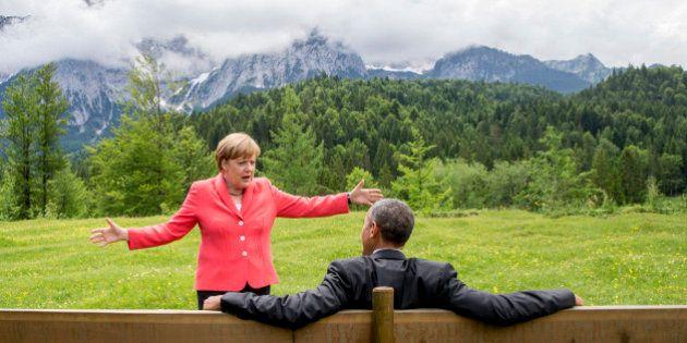Líderes do G7 concordam em reduzir emissões de carbono, mas evitam metas