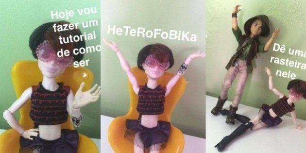 'Tutorial: Como ser Heterofobika' ironiza quem ainda acredita na
