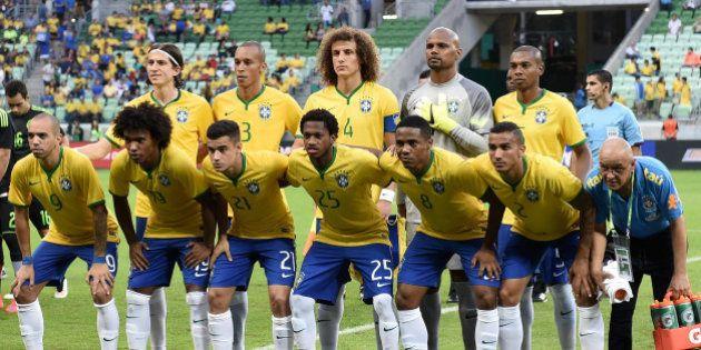 Seleção se encontra pela primeira vez antes da Copa