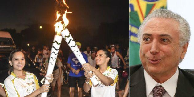 Governo Temer aposta nas Olimpíadas para 'passar mensagem positiva' sobre o