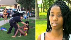 'Ele achou que estávamos sendo grosseiros', diz agredida por policial no