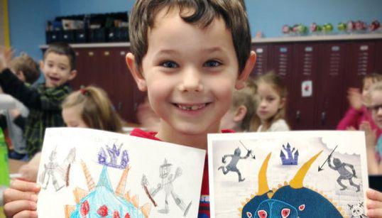 Esta empresa está transformando desenhos de monstros feitos por crianças em