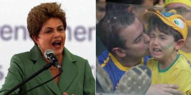 Dilma Rousseff canta, fala do 7 a 1 na Copa e considera 'absurdo' achar que ela sabia da corrupção na...