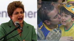 ASSISTA: Dilma canta, fala do 7 a 1 e acha 'absurdo' dizer que ela sabia da corrupção na