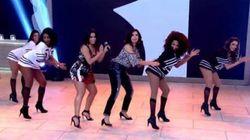 ASSISTA: Fátima Bernardes dança 'Bang' com Anitta. E ela