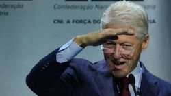 'O barco do Brasil não está afundando', afirma Bill Clinton em