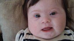 Louise, minha filha, 4 meses, dois braços, duas pernas e um cromossomo a