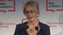 J.K. Rowling defende o direito de Donald Trump de ser 'ofensivo' e