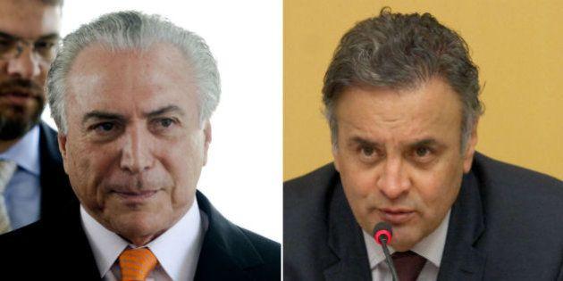 'Dificuldade do PSDB em reconhecer derrota nas urnas' é a explicação da defesa de Temer para ações no...