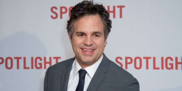 Mark Ruffalo poses for photographers at the UK premiere of Spotlight at a central London venue, London,...