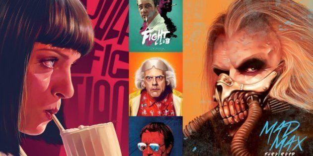 Artista francesa Flore Maquin cria versões alternativas para cartazes de filmes e séries