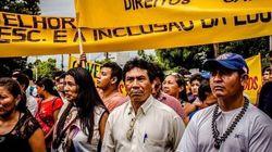 A luta dos professores indígenas por uma educação de qualidade em
