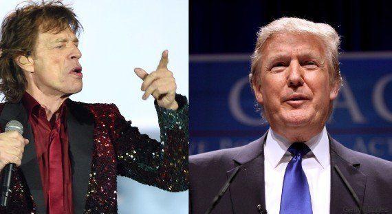 Após Adele, agora é a vez dos Rolling Stones impedirem Trump de usar as músicas da