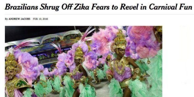 Reprovamos: New York Times destila preconceito sobre Brasil, zika e