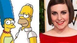 Homer e Marge Simpson vão se divorciar. E Lena Dunham tem algo a ver com