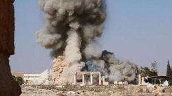 FOTOS: Estado Islâmico mostra imagens de destruição de templo