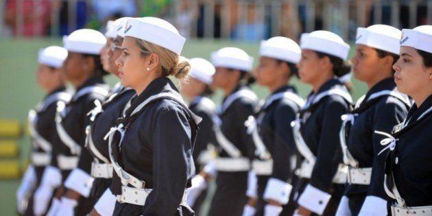Carreira para mulheres no serviço militar do Brasil pode ganhar impulso a partir de