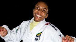 Ela levou o bronze no Mundial de judô. E chega muito forte para a Olimpíada do