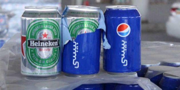 Esquema com Heineken disfarçada de Pepsi é