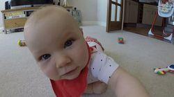ASSISTA: Bebê curioso tenta comer câmera GoPro em vídeo fofo