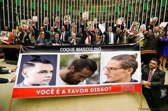 Protesto da bancada evangélica na Câmara dos Deputados vira