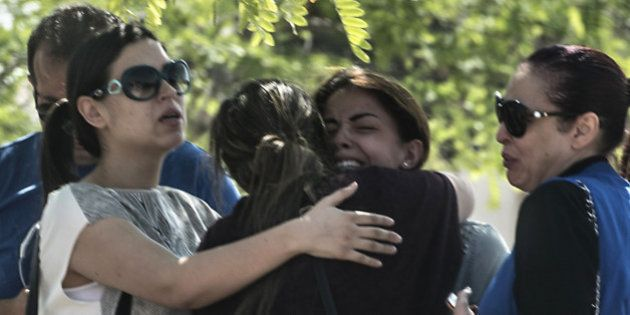 Relatives of passengers who were flying in an EgyptAir plane that vanished from radar en route from Paris...