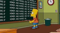 Ufa! Homer e Marge Simpson NÃO vão se divorciar, diz