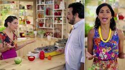 Bela Gil participa de vídeo do Porta dos Fundos que tira sarro da 'culinária