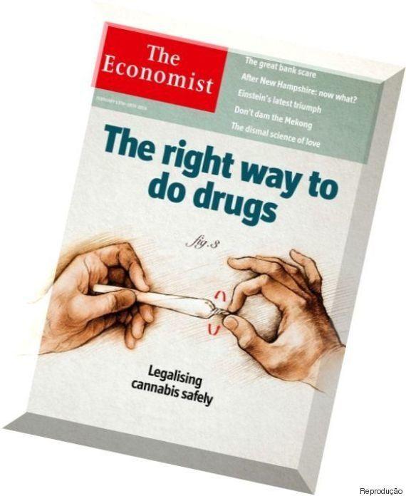 Economist faz capa especial para o que você já deveria saber: a legalização da maconha