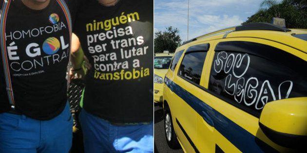 Após episódio de homofobia no Carnaval, taxista é expulso por aplicativo no