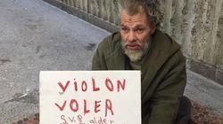 Um morador de rua, seu violino roubado e nossa fé na