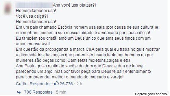 Ana Paula Valadão pede boicote à C&A por coleção de roupas 'sem gênero' e recebeu as MELHORES