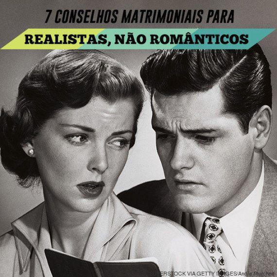 7 conselhos sobre casamento para pessoas realistas (não