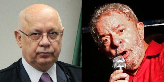 Teori inclui provas de relação entre Lula e Esteves em denúncia no