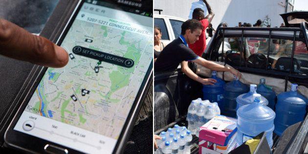 UberÁGUA: Uber de Belo Horizonte levará água doada às vítimas de Governador Valadares quando for
