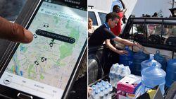 Uber coletará doações de água e levará DE GRAÇA às vítimas de Governador