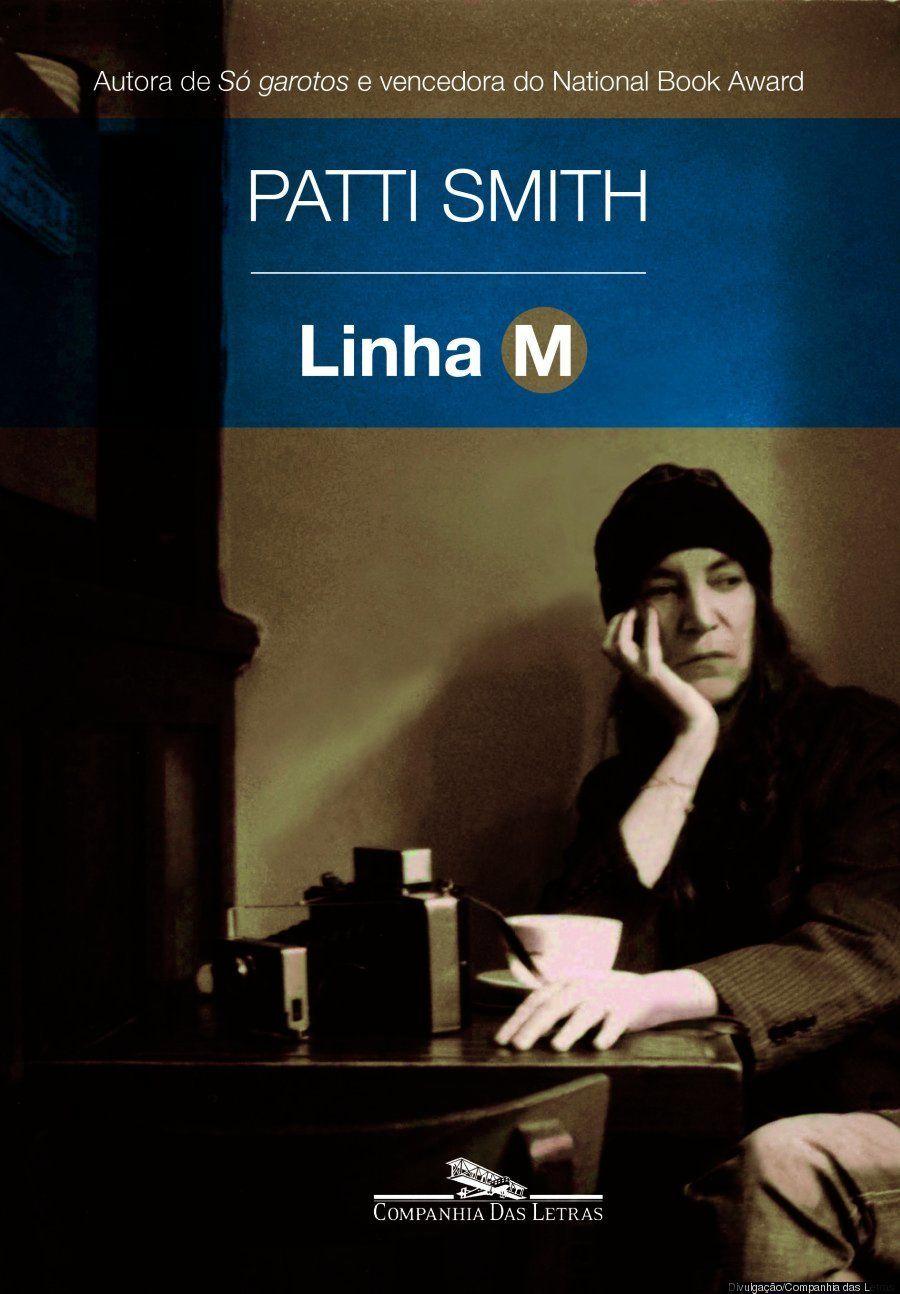 Aqui está a capa de 'Linha M', novo livro de Patti