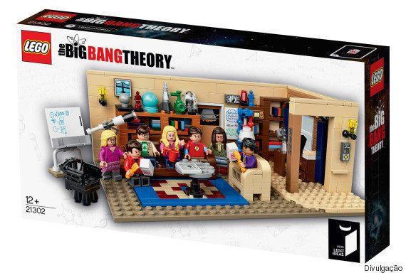 Lego lança edição especial do set de The Big Bang