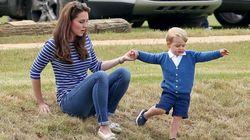 Fim de Semana + Kate Middleton + George + Jogo de Polo =