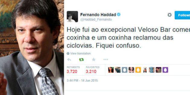 Fernando Haddad justifica o tweet que chamou a um cidadão de 'coxinha': 'Não vejo nada pejorativo