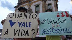 Mariana: Samarco terá que dar cheque caução de R$ 1 bi para cobrir danos