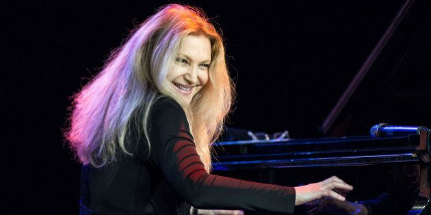 Eliane Elias In Concert, Skopje Jazz Festival 2014, Universal Hall, Skopje, Macedonia - 18 Oct 2014,...
