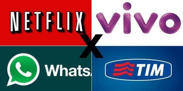 Empresas de telefonia aumentam pressão pela regulamentação de WhatsApp e Netflix, mas senador ironiza:...